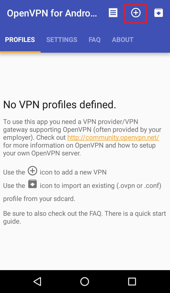 OpenVPN on Android
